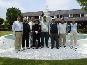 平成28年 第34回親睦ゴルフ大会参加者(集合写真)